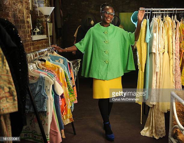 TaRosa Jacobs is the Thriftonista and vintage clothing expert She was at her LoHi store called Wishlist Vintage studio on Monday March 5 2012 Cyrus...