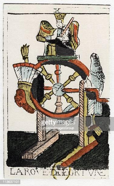 Tarot card The Juggler or Mountebank Parisian Tarot 1500 Tarot pack of 22 cards was used in fortune telling