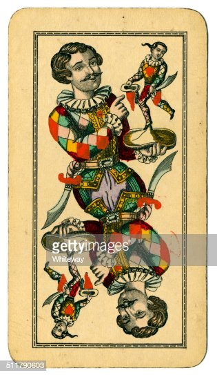 Tarot Fool Or Joker Austrian Taroch Playing Card 1900