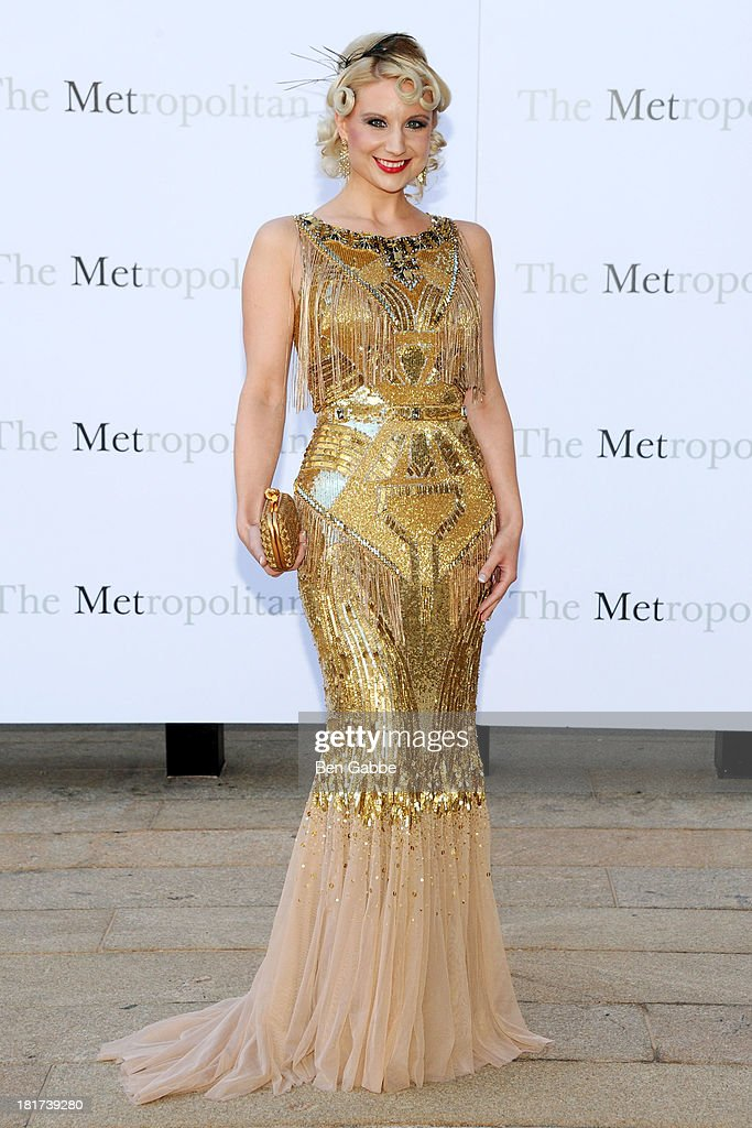 Tarra Bandet attends the Metropolitan Opera Season Opening Production Of 'Eugene Onegin' at The Metropolitan Opera House on September 23, 2013 in New York City.