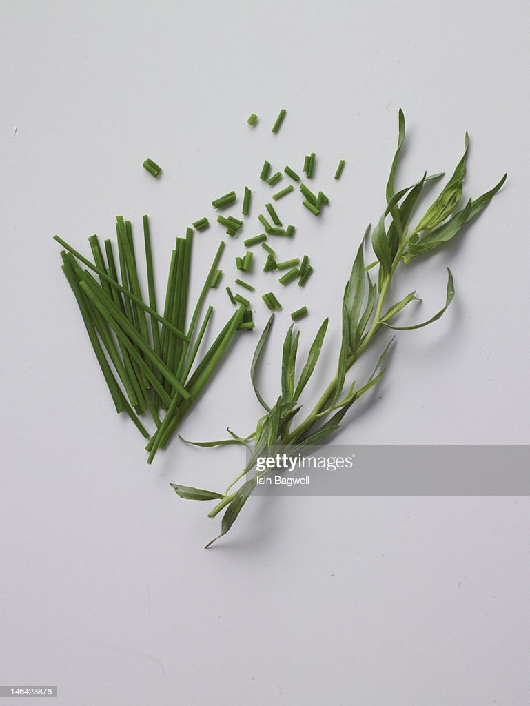 tarragon and chive
