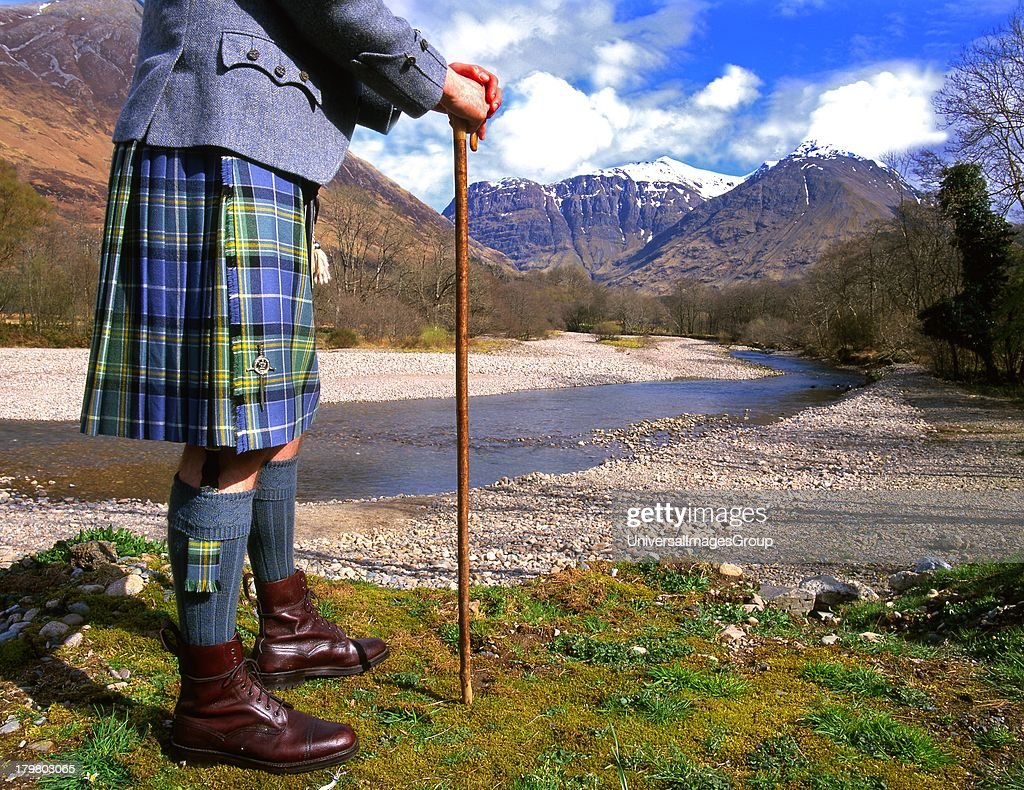 tartan clad highlander scotland pictures getty images