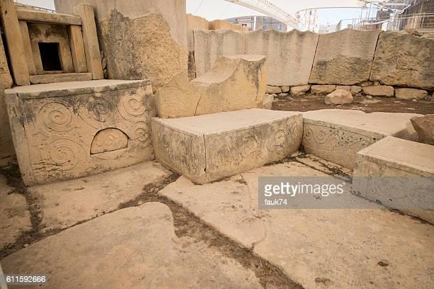 Tarxien Temple in Malta