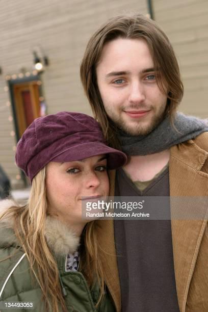 Taryn Manning and Vincent Karetheiser during 2004 Sundance Film Festival 'Dandelion' Outdoor Portraits in Park City Utah