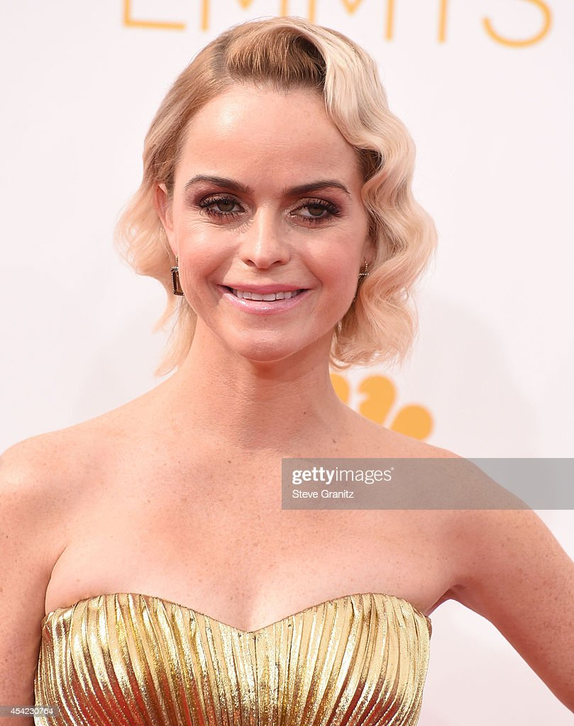 Taryn Manning arrives at the 66th Annual Primetime Emmy Awards at Nokia Theatre LA Live on August 25 2014 in Los Angeles California