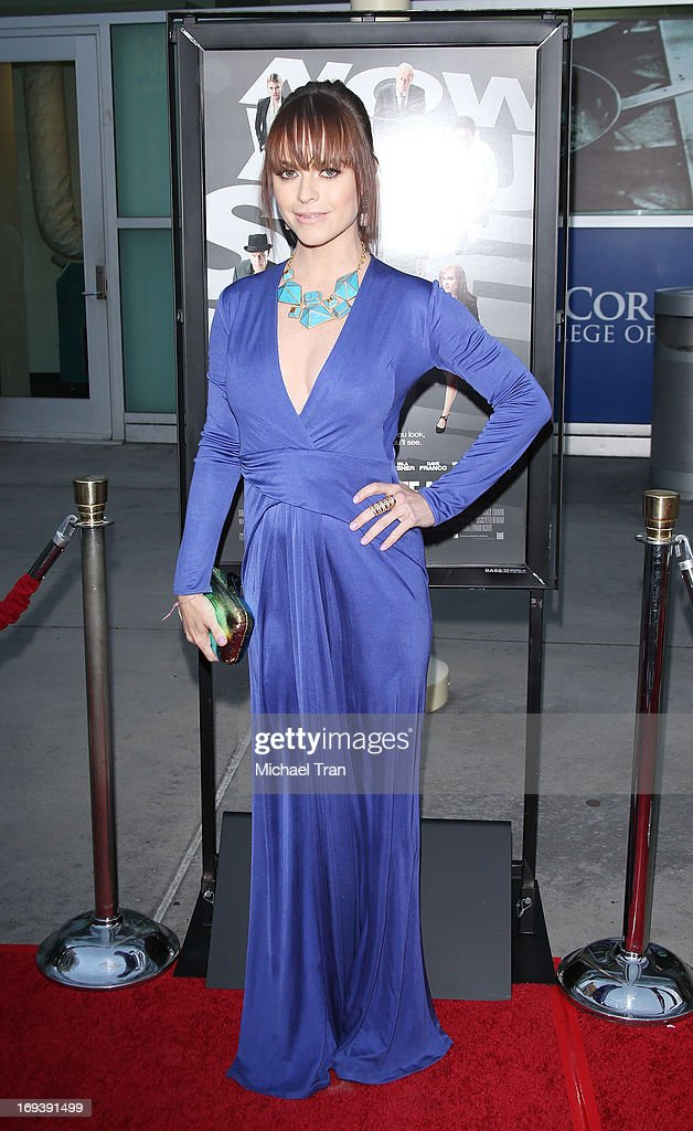 <a gi-track='captionPersonalityLinkClicked' href=/galleries/search?phrase=Taryn+Manning&family=editorial&specificpeople=202146 ng-click='$event.stopPropagation()'>Taryn Manning</a> arrives at the Los Angeles special screening of 'Now You See Me' held at ArcLight Hollywood on May 23, 2013 in Hollywood, California.