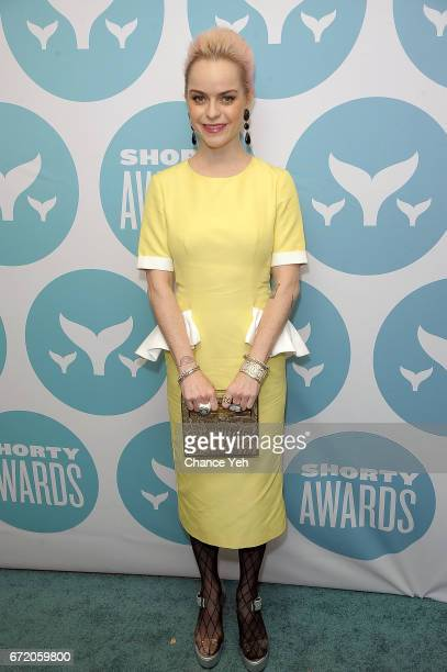 Taryn Manning attends 9th Annual Shorty Awards at PlayStation Theater on April 23 2017 in New York City