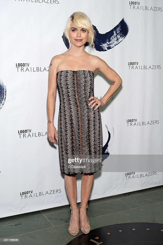 <a gi-track='captionPersonalityLinkClicked' href=/galleries/search?phrase=Taryn+Manning&family=editorial&specificpeople=202146 ng-click='$event.stopPropagation()'>Taryn Manning</a> attends LOGO TV's 1st Annual Trailblazers event at the Cathedral of St. John the Divine on June 23, 2014 in New York City.