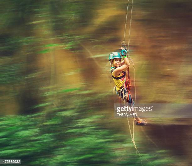 tarzan swing linee in costa rica