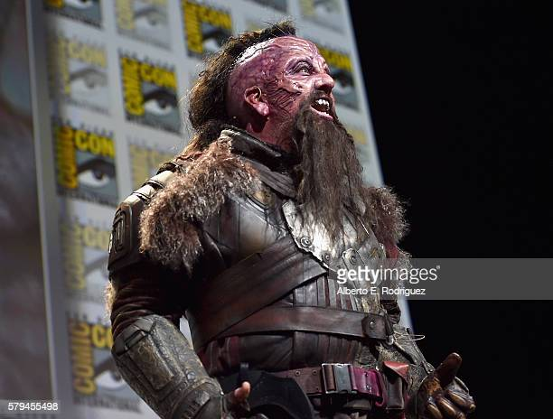 """Taserface from Marvel Studios' 'Guardians Of The Galaxy Vol 2"""" attends the San Diego ComicCon International 2016 Marvel Panel in Hall H on July 23..."""
