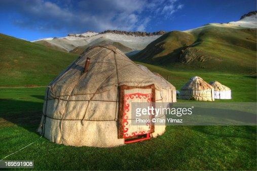 Tash Rabat Yurts