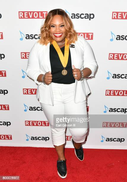 Tasha Cobbs at the ASCAP 2017 Rhythm Soul Music Awards at the Beverly Wilshire Four Seasons Hotel on June 22 2017 in Beverly Hills California