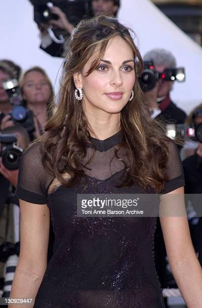 Tasha de Vasconcelos during Cannes 2002 Palmares Awards Ceremony Arrivals at Palais des Festivals in Cannes France