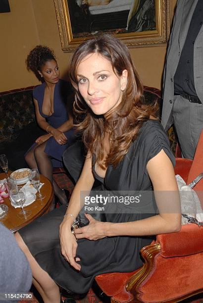 Tasha de Vasconcelos during Paris Fashion Week Spring/Summer 2007 Valentino After Show Dinner Party at Ritz Club in Paris France