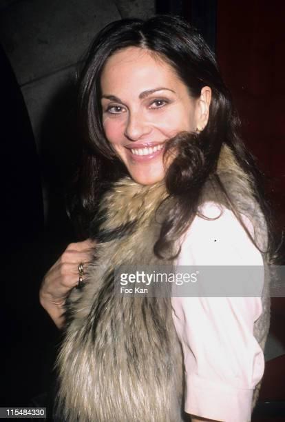 Tasha de Vasconcelos during Paris Premiere TV 30th Anniversary Party at Show Case Club in Paris France