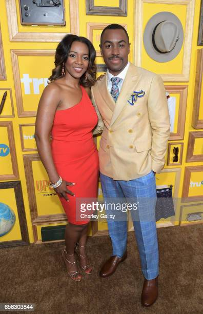Tasha Penny and Creator/Host Prentice Penny at truTV's 'Upscale with Prentice Penny' Premiere at The London Hotel on March 21 2017 in West Hollywood...
