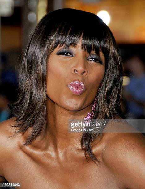 Tasha Smith arrives at the American Premiere of 'Couples Retreat' at Mann Village Theater on October 5 2009 in Westwood California