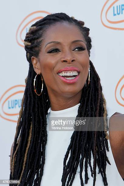 Tasha Smith attends Lupus LA's Orange Ball A Night of Superheroes at Fox Studio Lot on June 6 2015 in Century City California