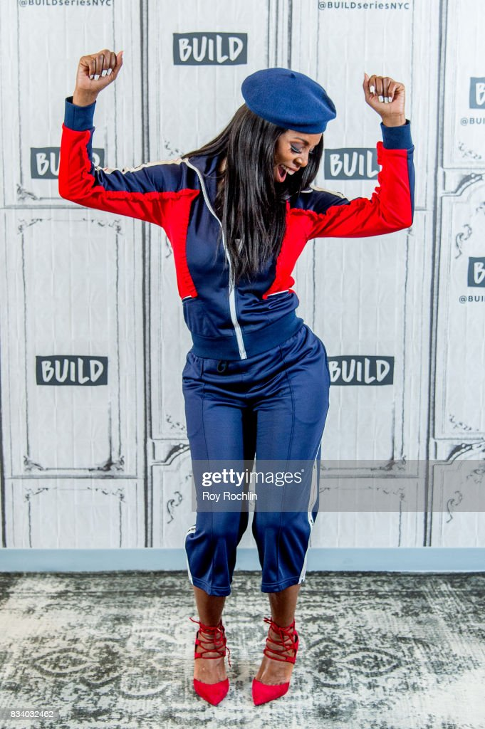 Tasha Smith discusses 'When Love Kills' with the Build Series at Build Studio on August 17, 2017 in New York City.