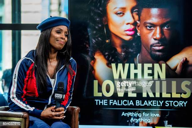 Tasha Smith discusses 'When Love Kills' with the Build Series at Build Studio on August 17 2017 in New York City