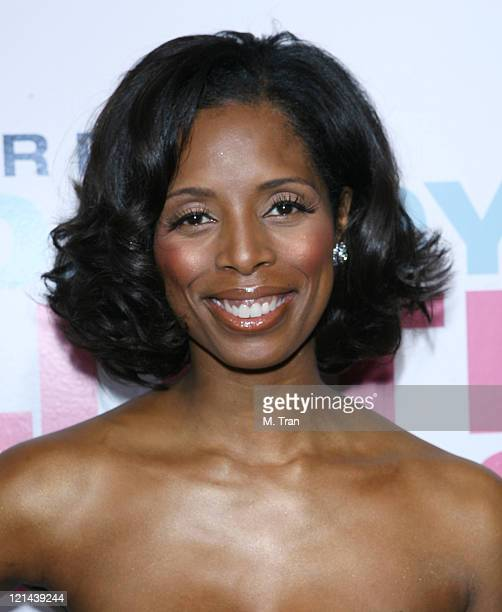 Tasha Smith during 'Daddy's Little Girls' Los Angeles Premiere Arrivals at Cinerama Dome in Hollywood California United States