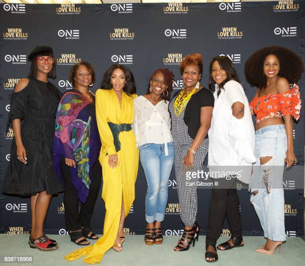 Tasha Smith Pat Prescott Niatia 'Lil Mama' Kirkland Cas SigersBeedles Tia Smith D'Angela Proctor and Tiffany Black attend the SAGAFTRA Foundation...