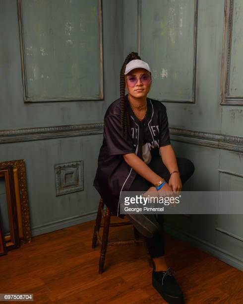 Tasha The Amazon poses for a portrait at the 2017 iHeartRADIO MuchMusic Video Awards at MuchMusic HQ on June 18 2017 in Toronto Canada