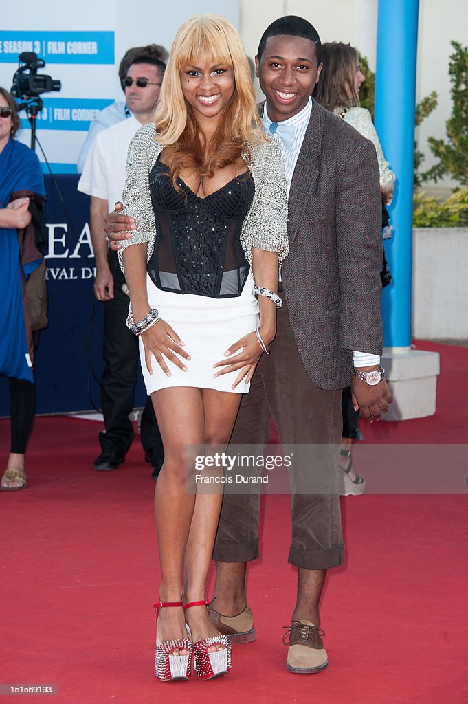 Tashiana Washington and Ty Hickson arrive at the closing ceremony of the 38th Deauville American Film Festival on September 8, 2012 in Deauville, France.
