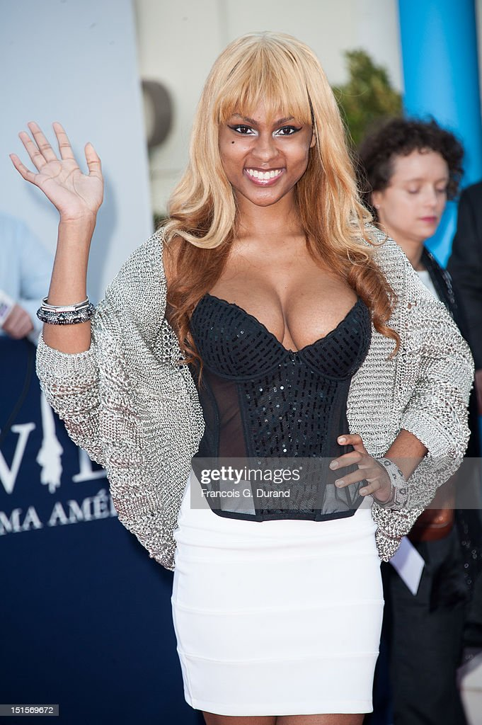 Tashiana Washington arrives at the closing ceremony of the 38th Deauville American Film Festival on September 8, 2012 in Deauville, France.