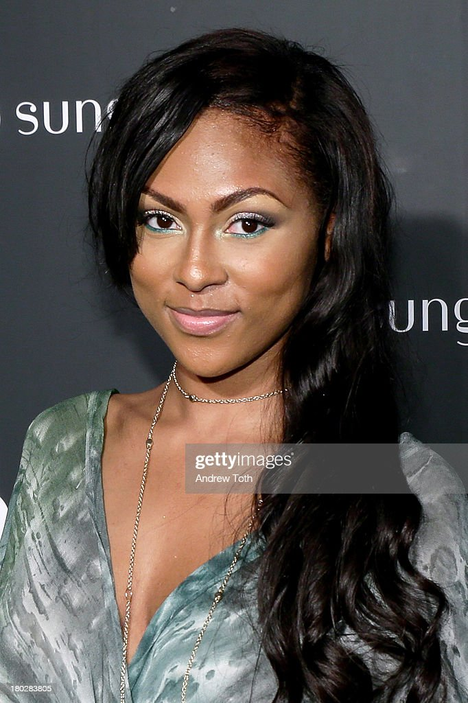 Tashiana Washington attends the Sunglass Hut Times Square Store Launch Event at Sunglass Hut Times Square on September 10, 2013 in New York City.