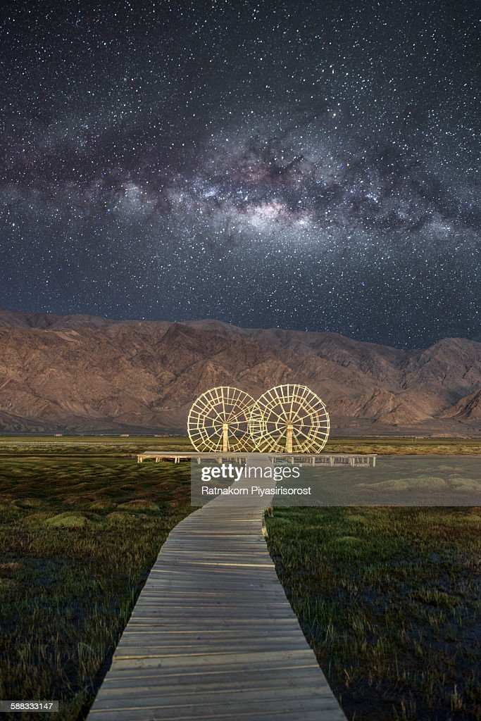 Tashkurgan Grassland in the night