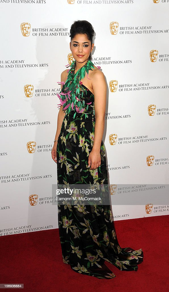 Tasie Lawrence of Nickelodeon's House of Anubis attends 2012 Children's BAFTA Awards at Hilton Park Lane on November 25, 2012 in London, England.