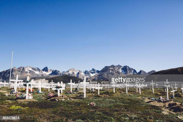Tasiusaq Cemetery - Tasermiut fjord