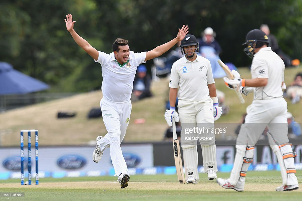 New Zealand v Bangladesh - 2nd Test: Day 2
