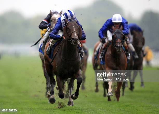 Tasleet ridden by Jim Crowley ridden by Duke Of York Clipper Logistics Stakes during day one of the Dante Festival at York Racecourse PRESS...
