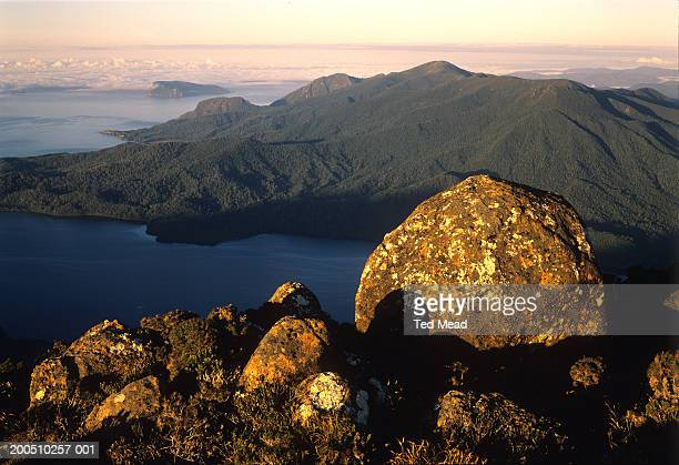 Tasmania, Southwest National Park, Ironbnound Range, New River Lagoon
