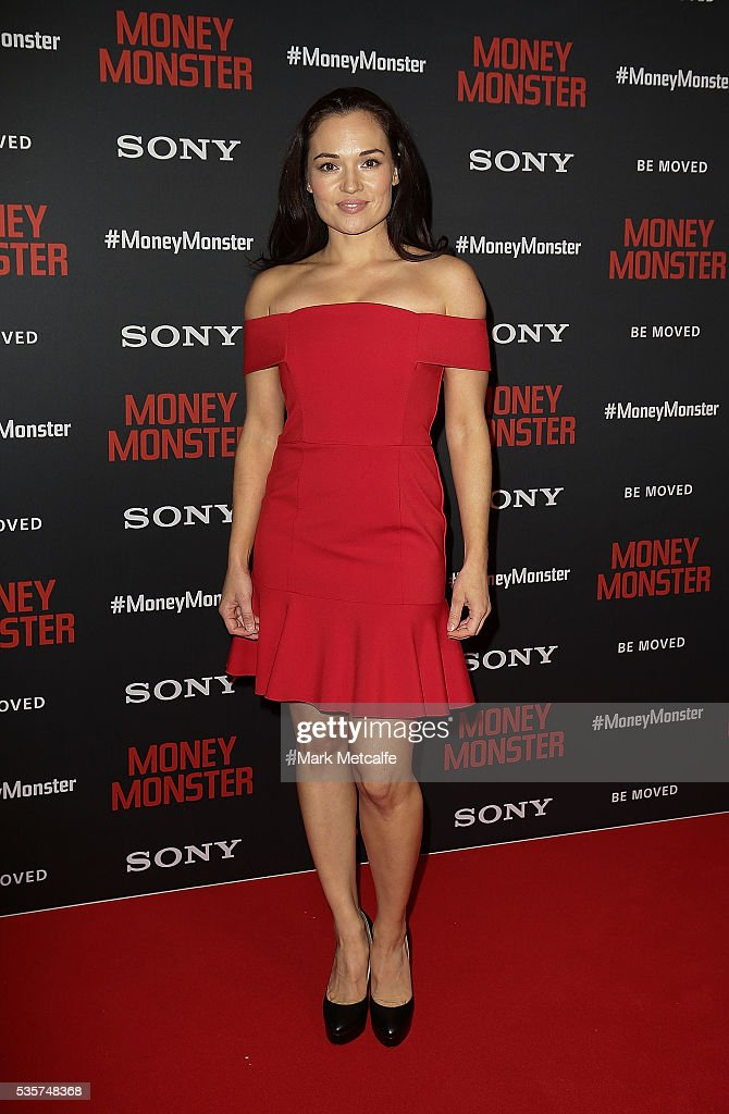 Tasneem Roc arrives ahead of the Money Monster Australian Premiere at Event Cinemas George Street on May 30, 2016 in Sydney, Australia.