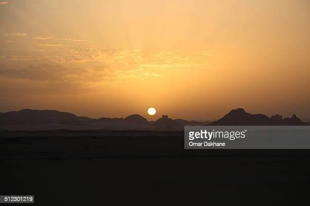 Tassili N'ajjer sunrise
