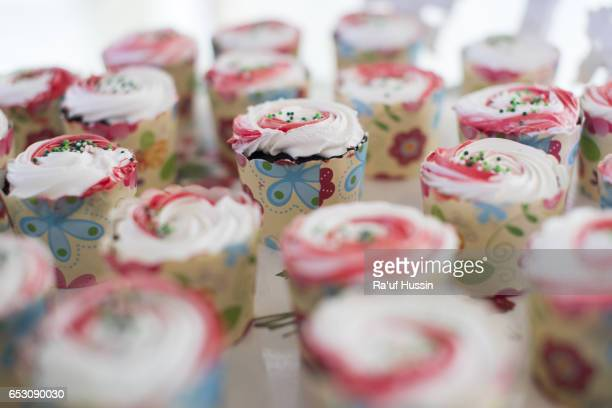 Tasty and delicious homemade cupcakes