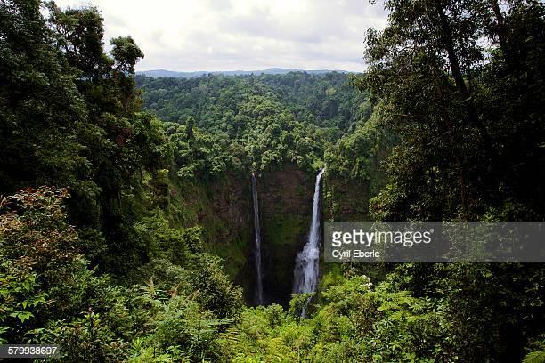 Tat Fan Twin Waterfalls, Laos