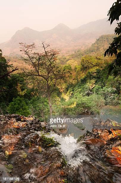 Tat Kuang Si, waterfall from above