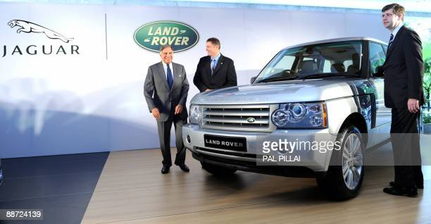 Jaguar board stock photos and pictures getty images for Tata motors range rover