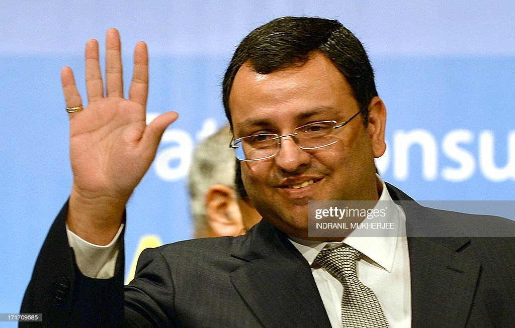 Tata Group chairman, Cyrus Mistry greets shareholders prior to the start of the 9th Annual General Meeting of Tata Consultancy Services in Mumbai on June 28, 2013. India's biggest IT outsourcing firm, Tata Consultancy Services, popularly known as TCS and part of the steel-to-tea Tata conglomerate, counts blue-chip companies such as British Airways, Microsoft and Sony among its main clients.