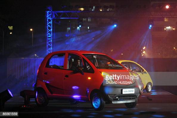 tata nano cars are seen during the vehic pictures getty. Black Bedroom Furniture Sets. Home Design Ideas