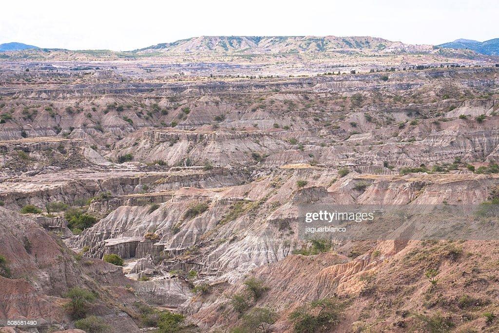 Tatacoa Desert : Stock-Foto