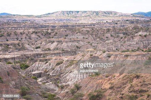 Tatacoa Desert : Stock Photo
