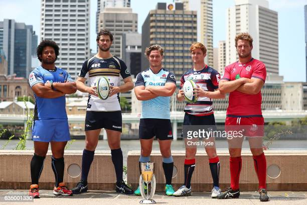 Tatafu PolotaNau of the Force Sam Carter of the Brumbies Michael Hooper of the Waratahs Nic Stirzaker of the Rebels and James Slipper of the Reds...