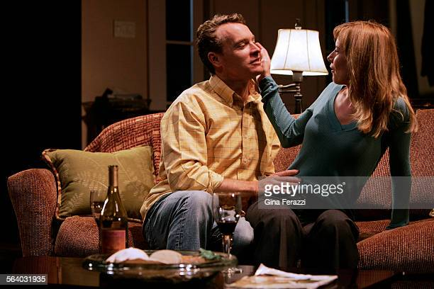 Tate Donovan and Amy Ryan perform in the west coast's premiere of Rabbit Hole at the Geffen Playhouse in Westwood Sept 7 2006 The critically...