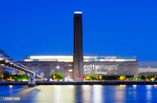 Tate Modern Gallery : Stock Photo