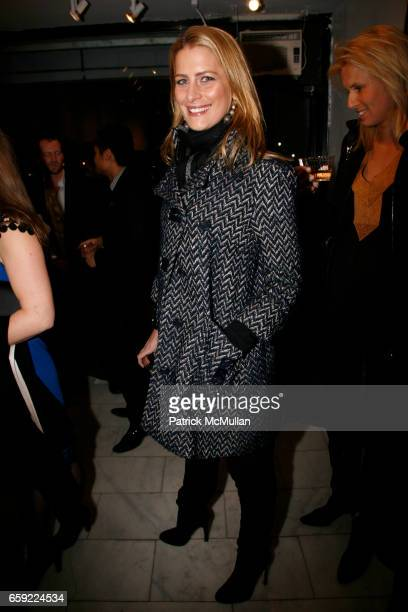 Tatiana Blatnick attends Opening reception for ANDREA TESE Boats Against the Current at Heist Gallery on February 13 2009 in New York City